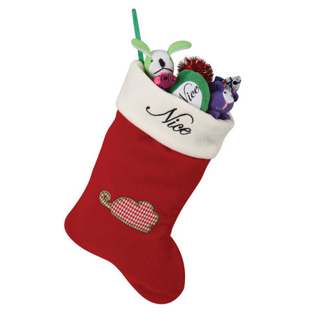 Pet Studio Naughty/Nice Stocking