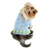 Square Knit Turtleneck Dog Sweater