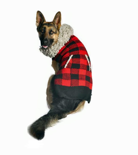 Lumberjack Dog Sweater