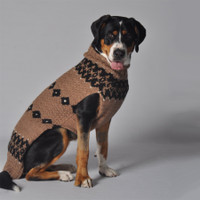 Granola Alpaca Dog Sweater