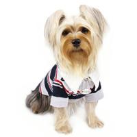 Quad Striped Polo Shirt