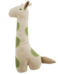Big Gable Giraffe Natural Cotton Canvas Toy