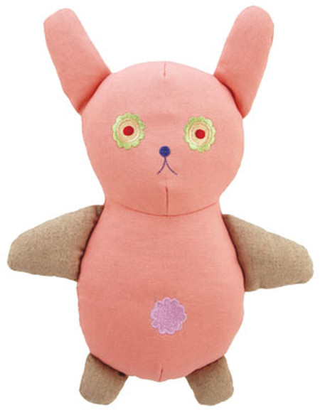 Big Jill Bunny Natural Cotton Canvas Toy