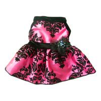 Taffeta Brocade Dress