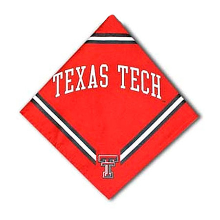 Texas Tech Dog Bandana