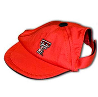Texas Tech Dog Cap