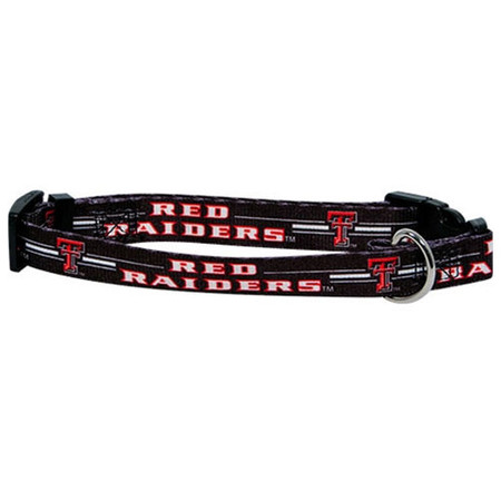 Texas Tech Dog Collar