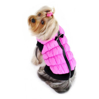 Crown Scunchy Puffer Vest