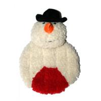 Snowman Krinkle Squeak Toy