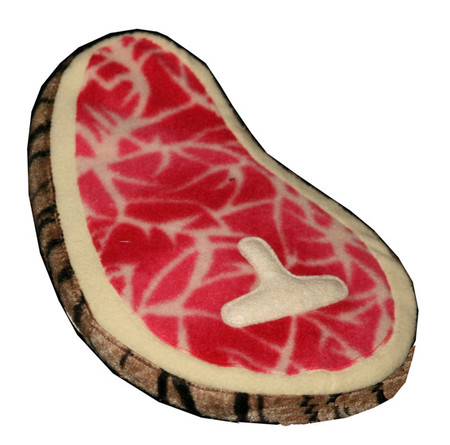 T-Bone Steak Plush Toy