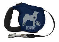 Customizable Pro Football Retractable Leash