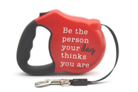 Avant Garde Retractable Dog Leash (Be The Person Your Dog Thinks You Are)