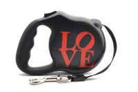 Avant Garde Retractable Dog Leash (LOVE)