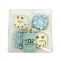 Snowy Cake Bites Box