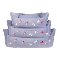 Louisdog Bow Boom Dog Bed