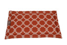 FABRIC NAME: SPICE (ORANGE), FRONT VIEW.