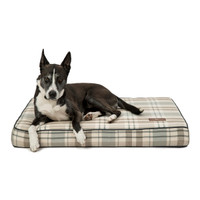 Cotton Blend Memory Foam Pillow Dog Bed
