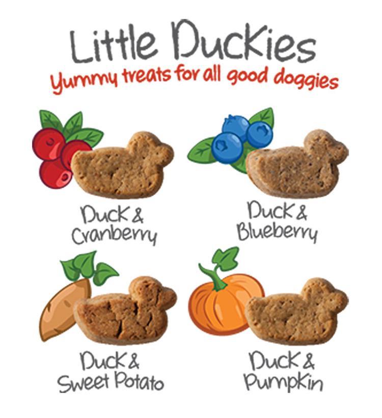 Little Duckies Dog Treats