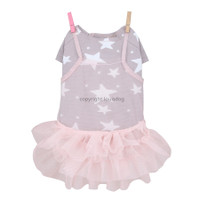 Louisdog Star Tulle Dress