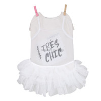 Louisdog Tres Chic Tulle Dress