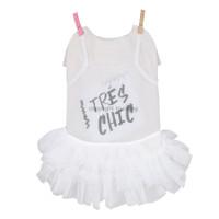 Louisdog Tres Chic Tulle Dress