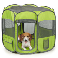 Insect Shield Pet Fabric Exercise Pen