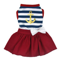 Dogs of Glamour Sailor Girl Dress