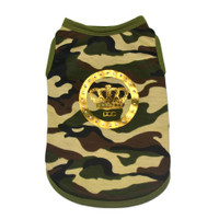 Dogs of Glamour Luxe Camo Tank