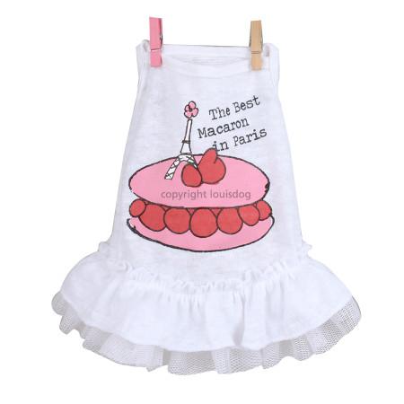 Macaron Linen Dress