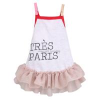 Tres Paris Linen Dress