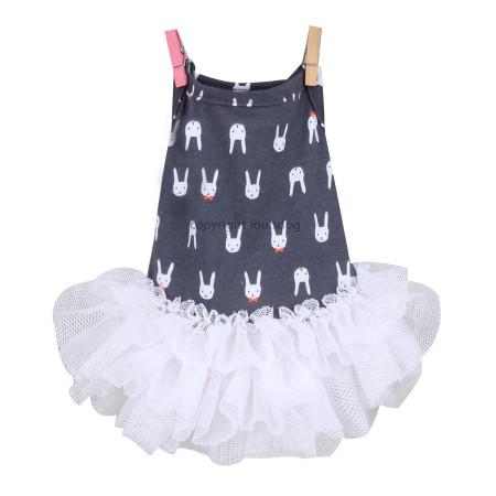 Louisdog Lazy Bunny Dress