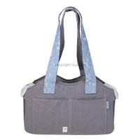 Louisdog Denim Strap Linen Bag