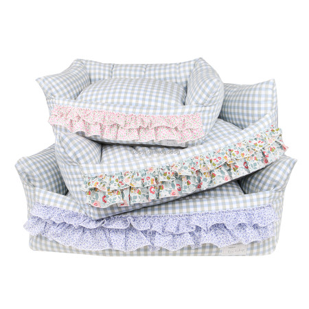 Louisdog Egyptian Cotton Frills Boom Bed