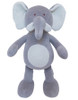 Large Ellie Elephant Organic Dog Toy