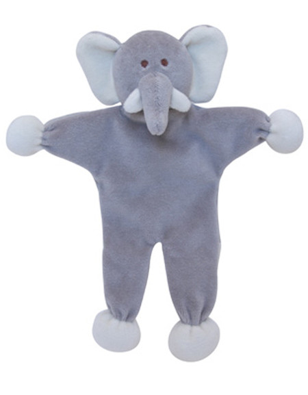 Stuffless Ellie Elephant Organic Dog Toy