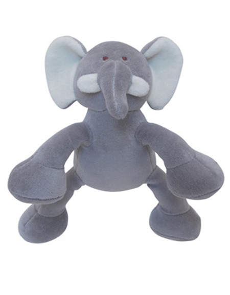 Petite Ellie Elephant Organic Dog Toy