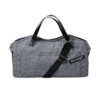 Louisdog Herringbone Tote Bag