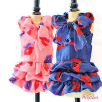Wooflink Kiss Me Dog Dress