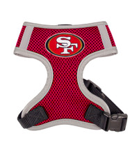 San Francisco 49ers Dog Harness Vest