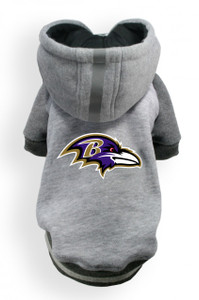 Baltimore Ravens Dog Hoodie