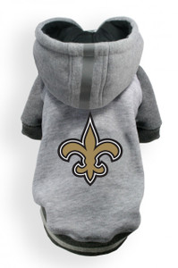New Orleans Saints Dog Hoodie