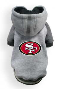 San Francisco 49ers Dog Hoodie