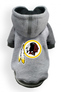 Washington Redskins Dog Hoodie