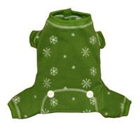 Green Snowflake Longjohns