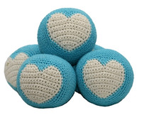 Organic Cotton Crochet Ball Toy