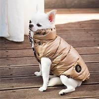 Louisdog Goose Down Truffle Bianco Jacket