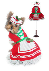 Holly Christmas Dog Costume