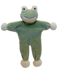 Stuffless Eddie Frog Organic Dog Toy