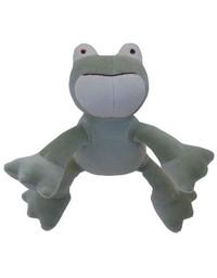 Petite Eddie Frog Organic Dog Toy