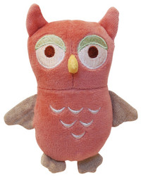 Holiday Beginnings Owl Organic Dog Toy